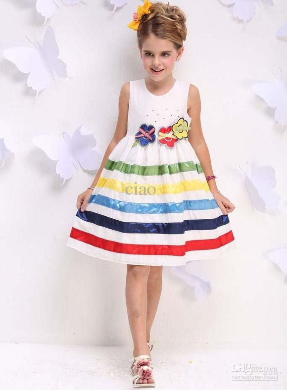Buy cheap Kids Summer Dress Fashion Princess Dresses Children ...