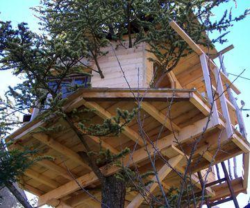 visuel du plancher comment construire une cabane dans les arbres font tout a pinterest. Black Bedroom Furniture Sets. Home Design Ideas