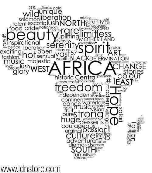 Words Describing The Beauty of Africa