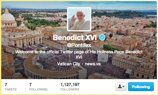 (December 14, 2012) 5 Ways to Help the Pope on Twitter (and the greatest Vatican media project?) |Blogs | NCRegister.com