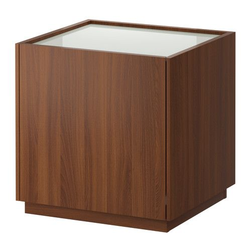 NYVOLL Nightstand IKEA Drawer with integrated damper so that the drawer  closes slowly  silently and. NYVOLL Nightstand IKEA Drawer with integrated damper so that the