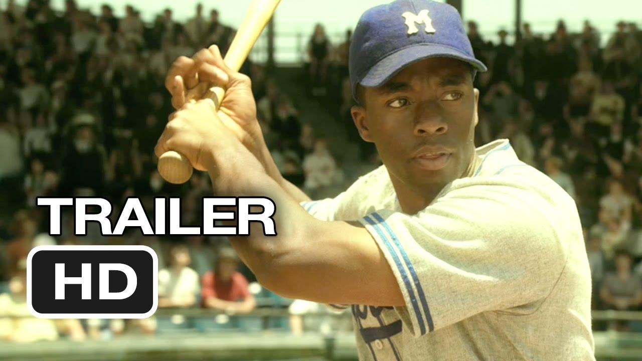 42 Is The Life Story Of Jackie Robinson And His History Making Signing With The Brooklyn Dodgers Under The Guidance Of Team Executive Bran Harrison Ford Movies