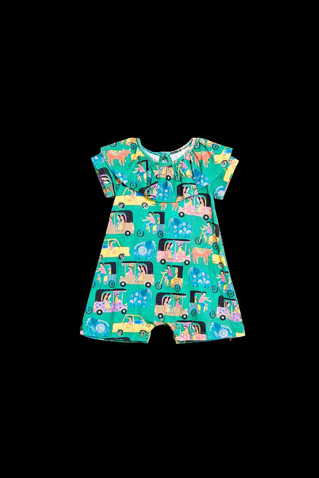 Desenho infantil de roupas, sandálias de bebê, azul, cartão
