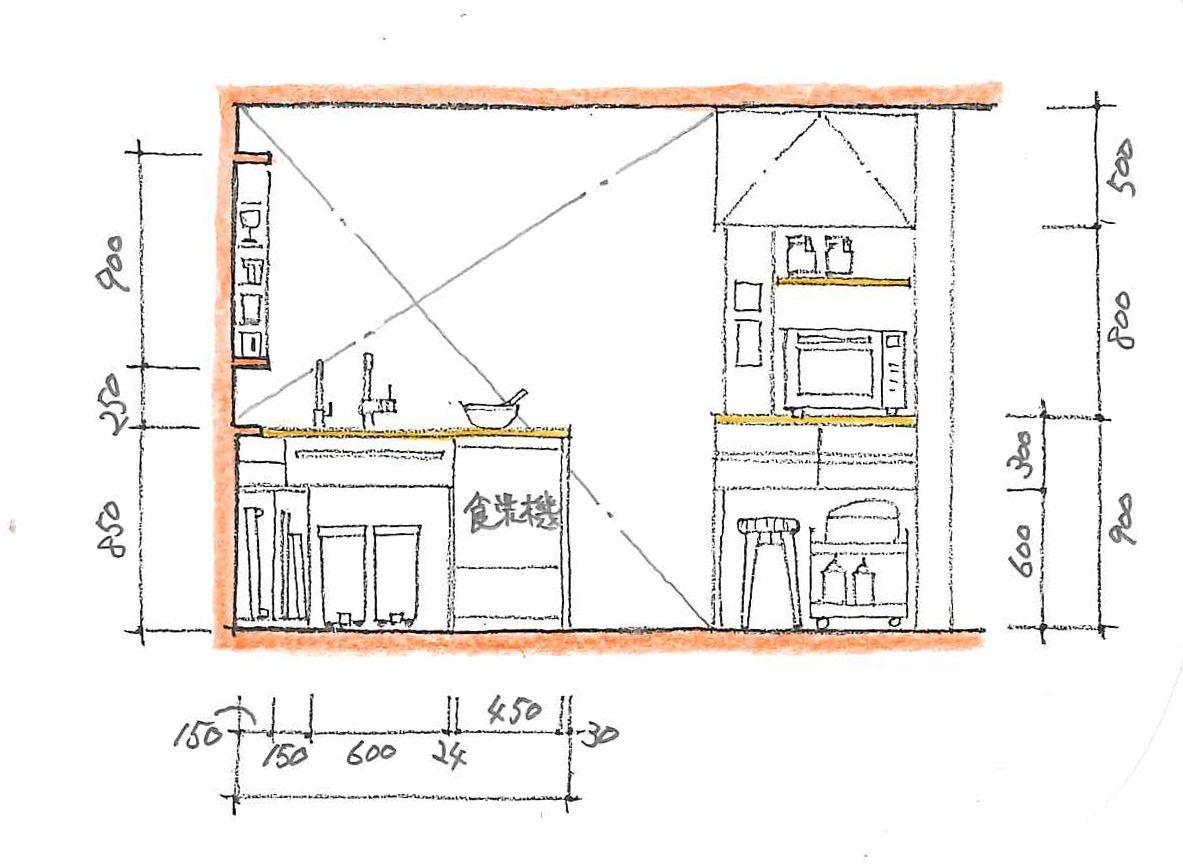 コンパクトな寸法で納める Floor Plans H Town House