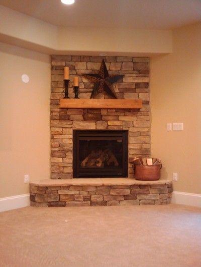 Gas Corner Fireplace - Foter More