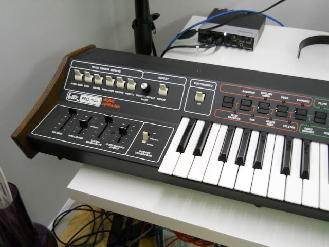 MATRIXSYNTH: ARP Pro DGX Lead Synthesizer SN 27200535