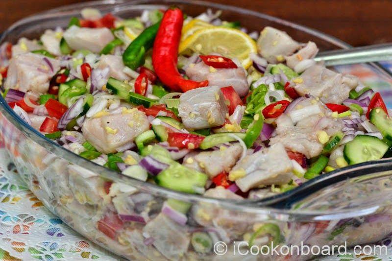 Kinilaw recipe panlasangpinoyrecipes pinterest for Fish recipe panlasang pinoy