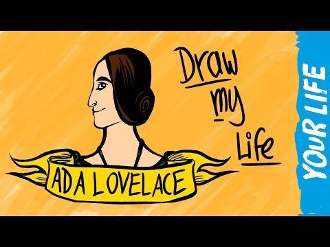 Ada Lovelace Draw My Life Youtube Math Videos Pinterest