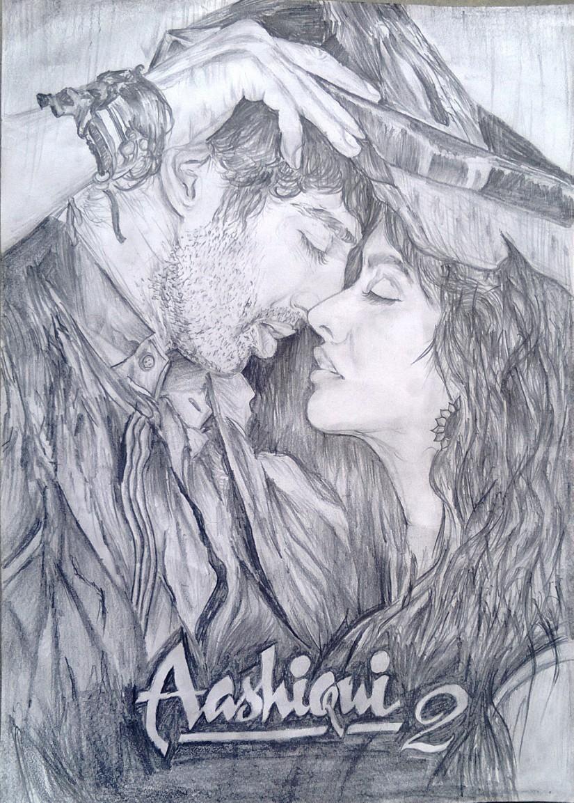 Aashiqui 2 Kyon Ki Tum Hi Ho Sketching By Soumya Ranjan Mohanty