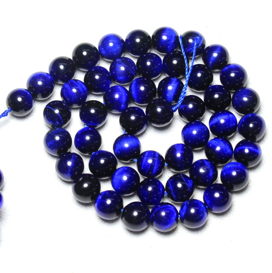 """4-20mm Natural Lapis Lazuli Round Shape DIY Gemstone Loose Beads Strand 15/"""""""