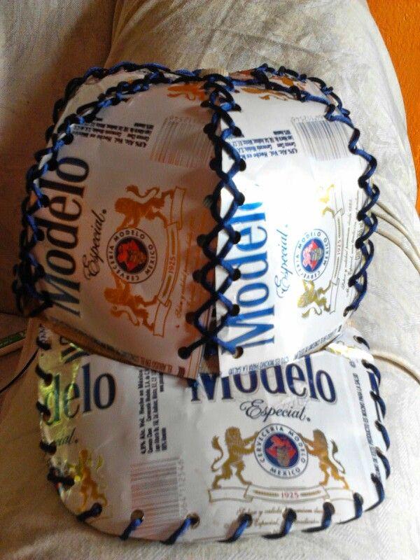 Gorra con latas de cerveza | egz68 | Pinterest | Latas y Cerveza