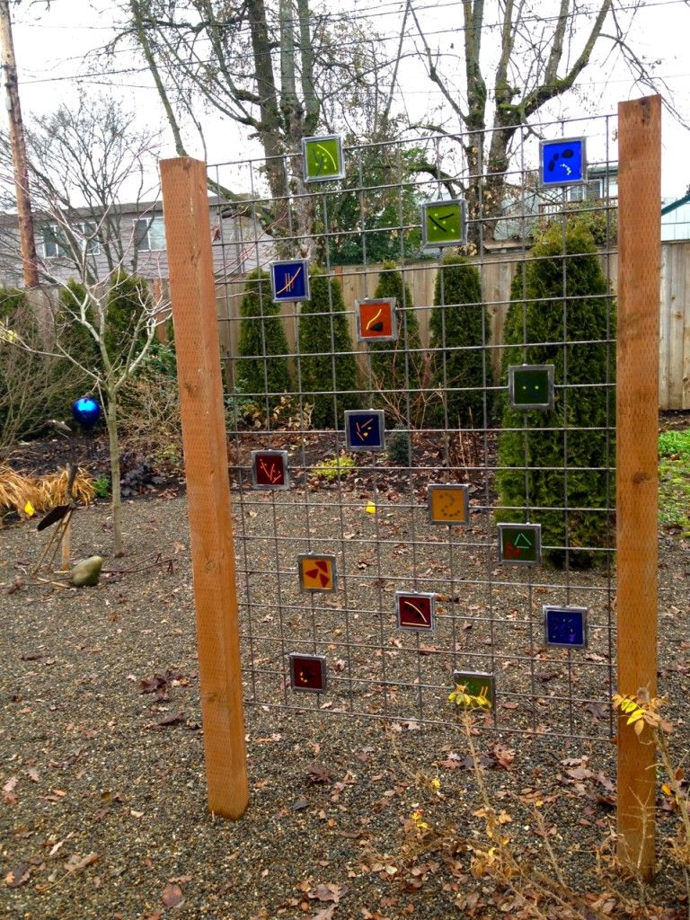 Glass on fence - correct link this time Joy Overstreet, color ...