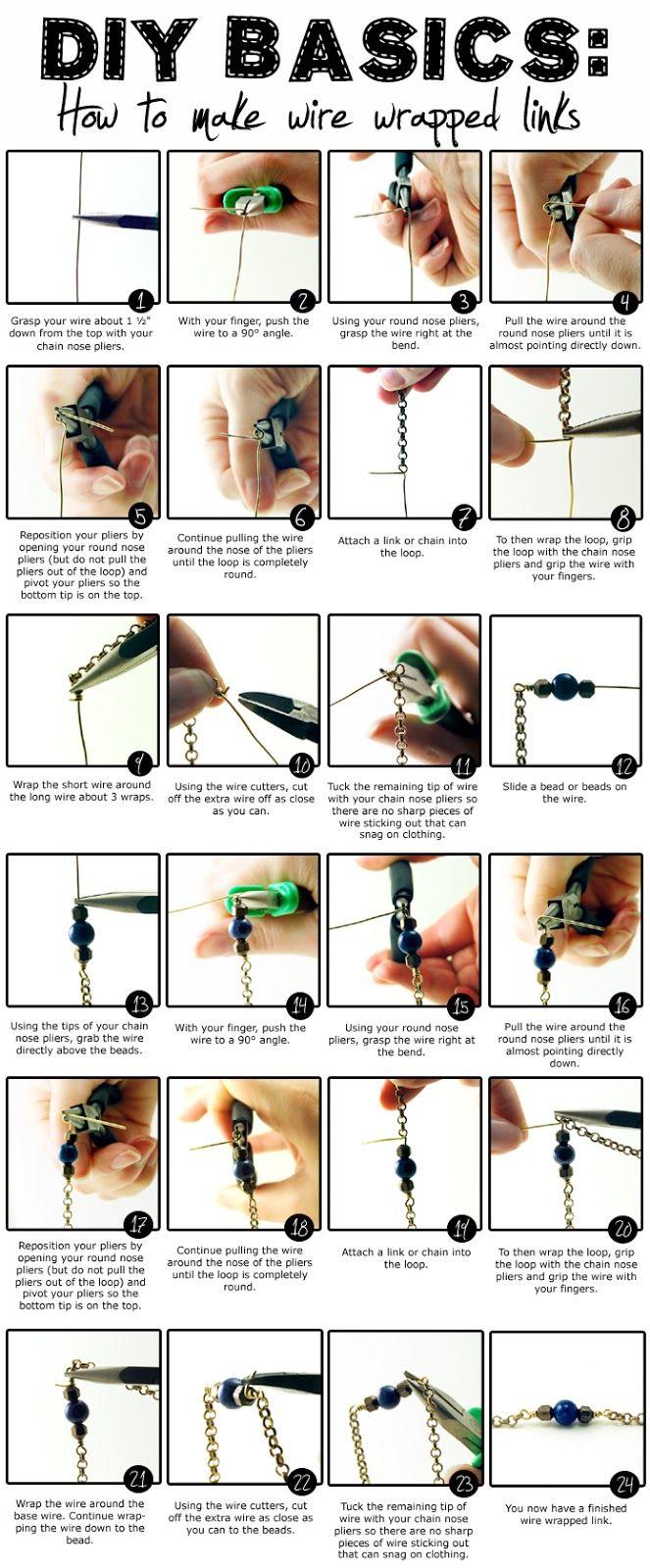 Design Thrift Blog: DIY BASICS: basic techniques: making wire ...