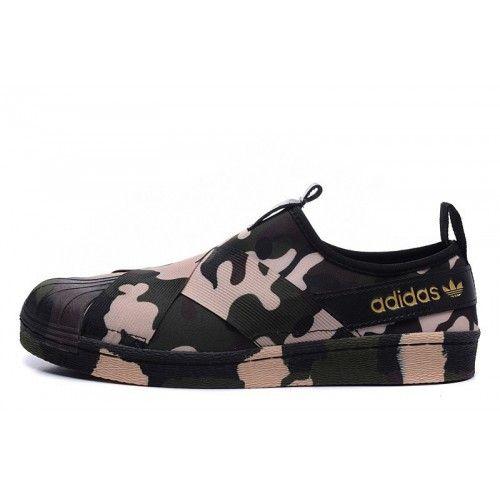 Adidas Boty Dámské Originals Superstar Slip On Trainer Camo - Adidas Obchod 9c2ff3eb522