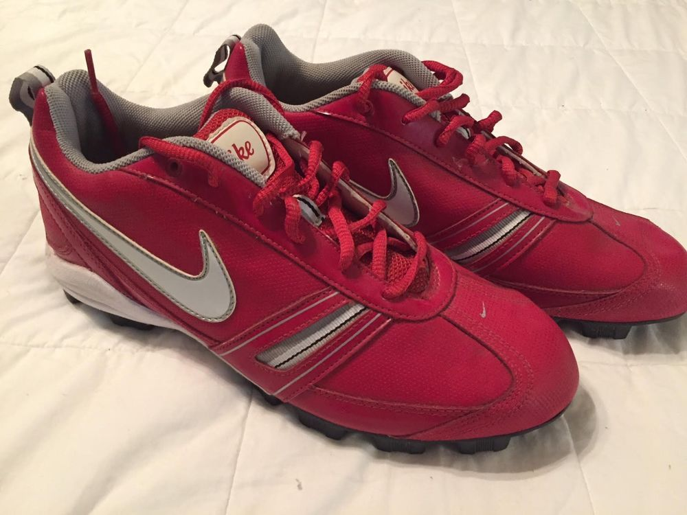 Nike Cleats - Red - Women Size 10  fashion  clothing  shoes  accessories   womensshoes  athleticshoes (ebay link) 8d71cc3e5
