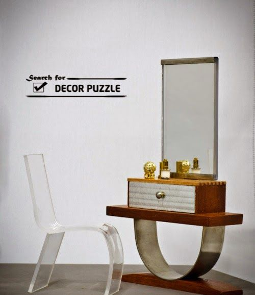 . Latest luxury dressing table designs with mirror for bedroom