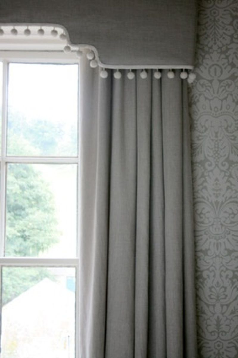 Shower curtain with cornice - Curtain Designs