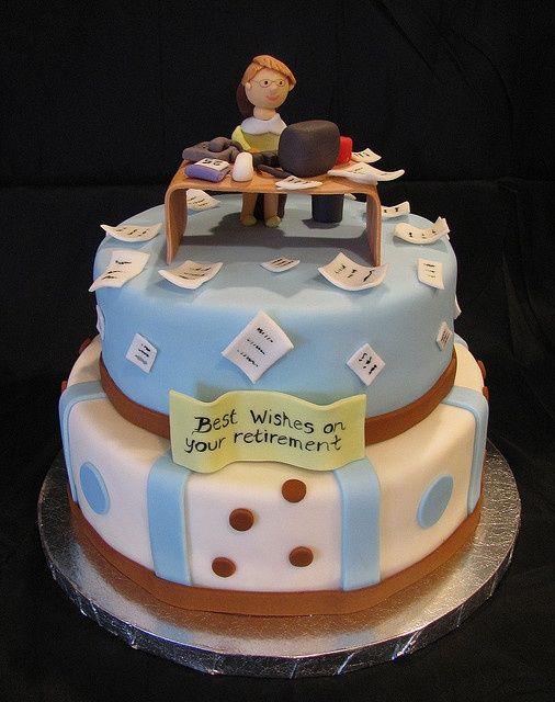 Image Result For Retirement Cake For Women Or Secretary