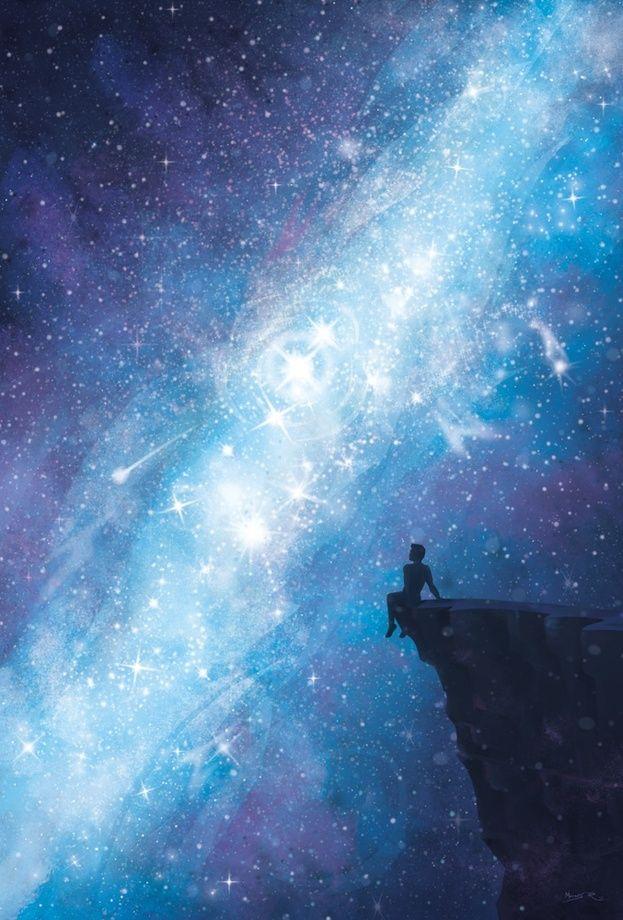 Starry Night, an art print by Moisés Rodríguez