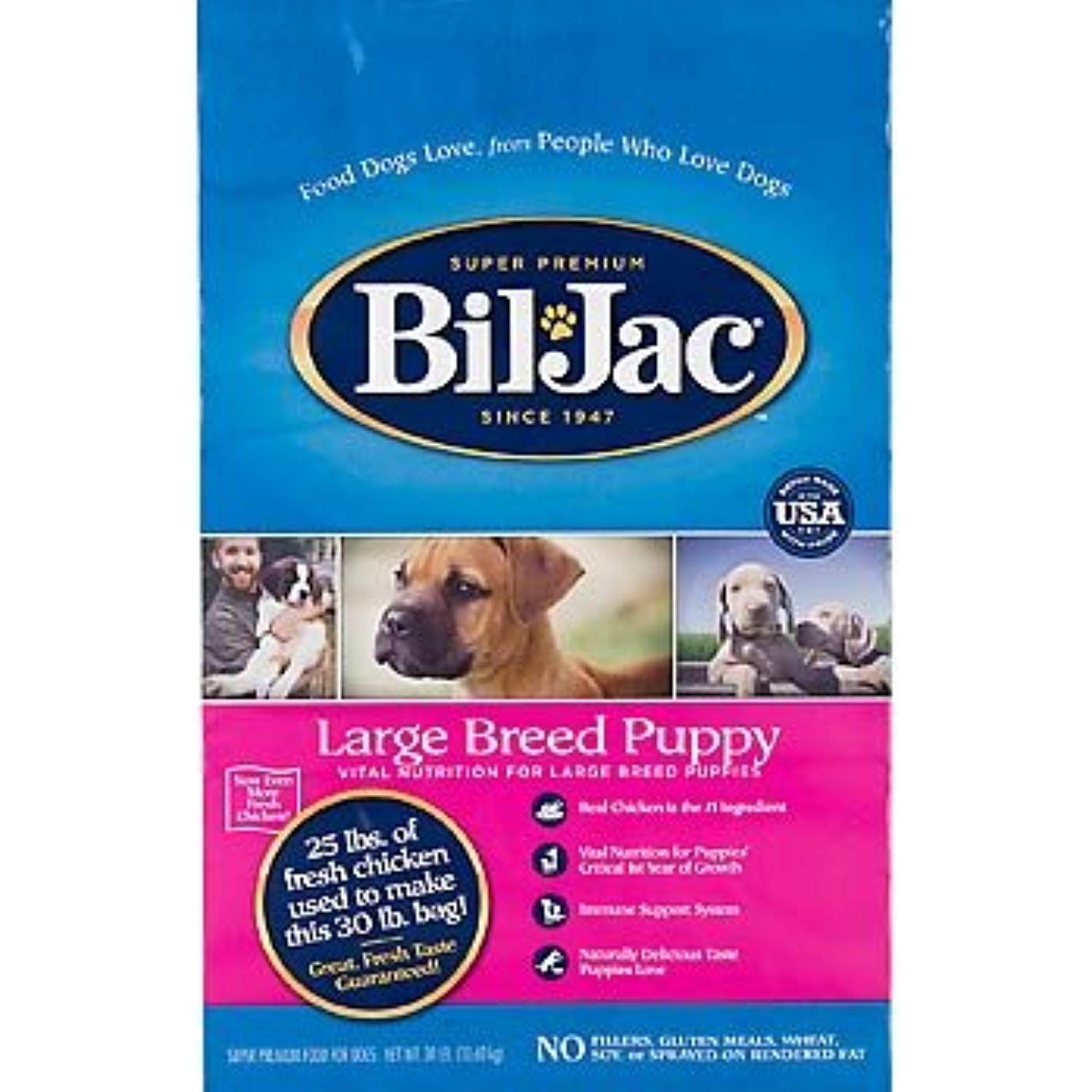 Bil Jac 319011 Large Breed Puppy Dry Food 30 Pound Learn More By Visiting The Image Link This Is An Affiliate L Dog Food Recipes Puppy Food Dry Dog Food