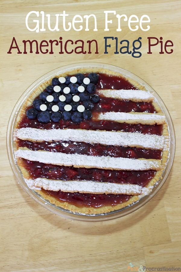 Gluten free american flag pie gluten free dessert recipes and pies gluten free strawberry american flag pie desserts recipe forumfinder