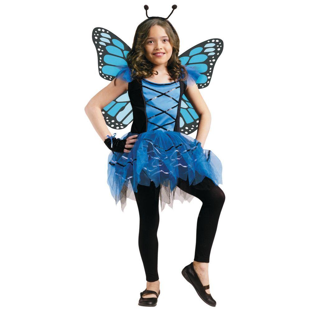 Blue Ballerina Butterfly Girls Halloween Costume | Butterfly ...