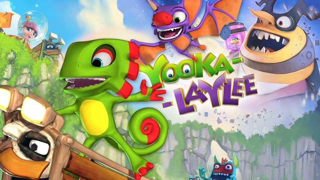Yooka Laylee Indie games, Xbox one pc, Mario characters
