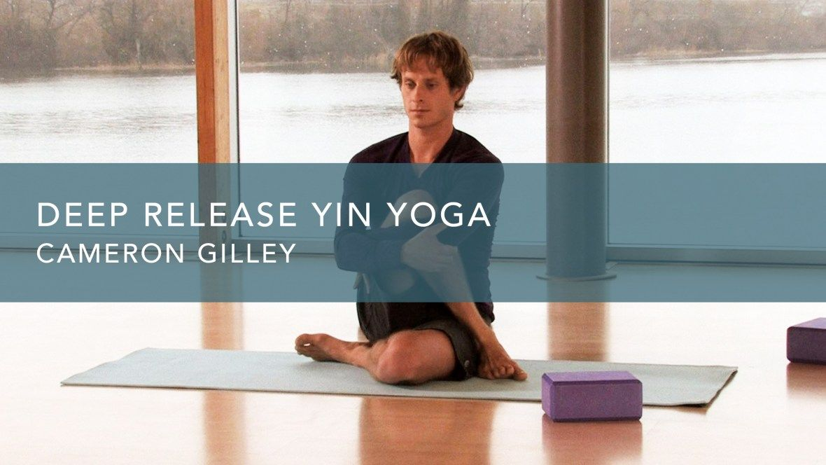 A classic series of Yin Yoga postures with Cameron Gilley designed for deep release of the connective tissues, hips and spine. Practice with Gaia.