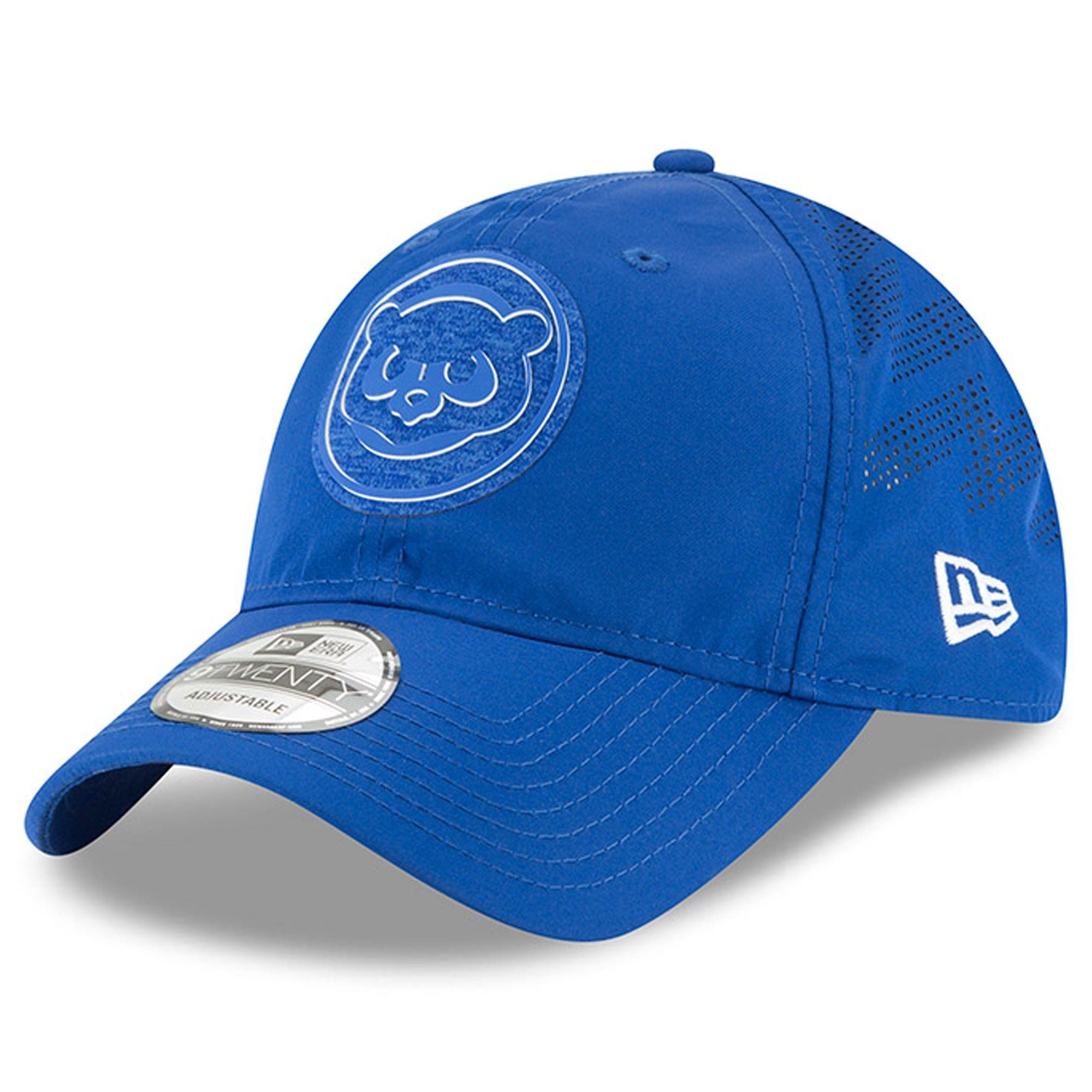 best service 295d8 79bc2 Men s Chicago Cubs New Era Royal 2018 Clubhouse Collection Classic 9TWENTY Adjustable  Hat