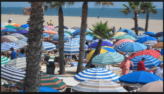 The Beach Club Santa Monica Summertime
