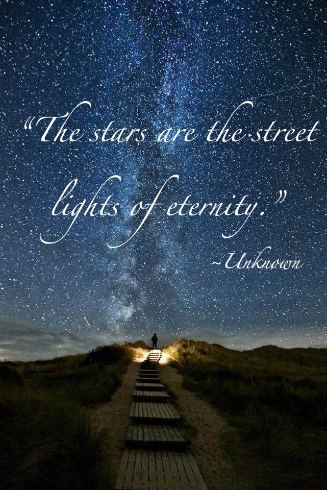 The Stars Are The Street Lights Of Eternity Quotes Quotes