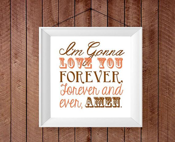 Love You Forever Country Song Randy Travis by