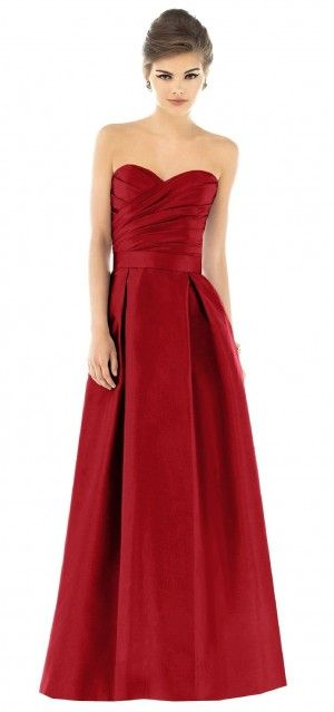 Garnet #Red #Bridesmaid #Dresses ♥ For an easy-to-follow 'Wedding ...