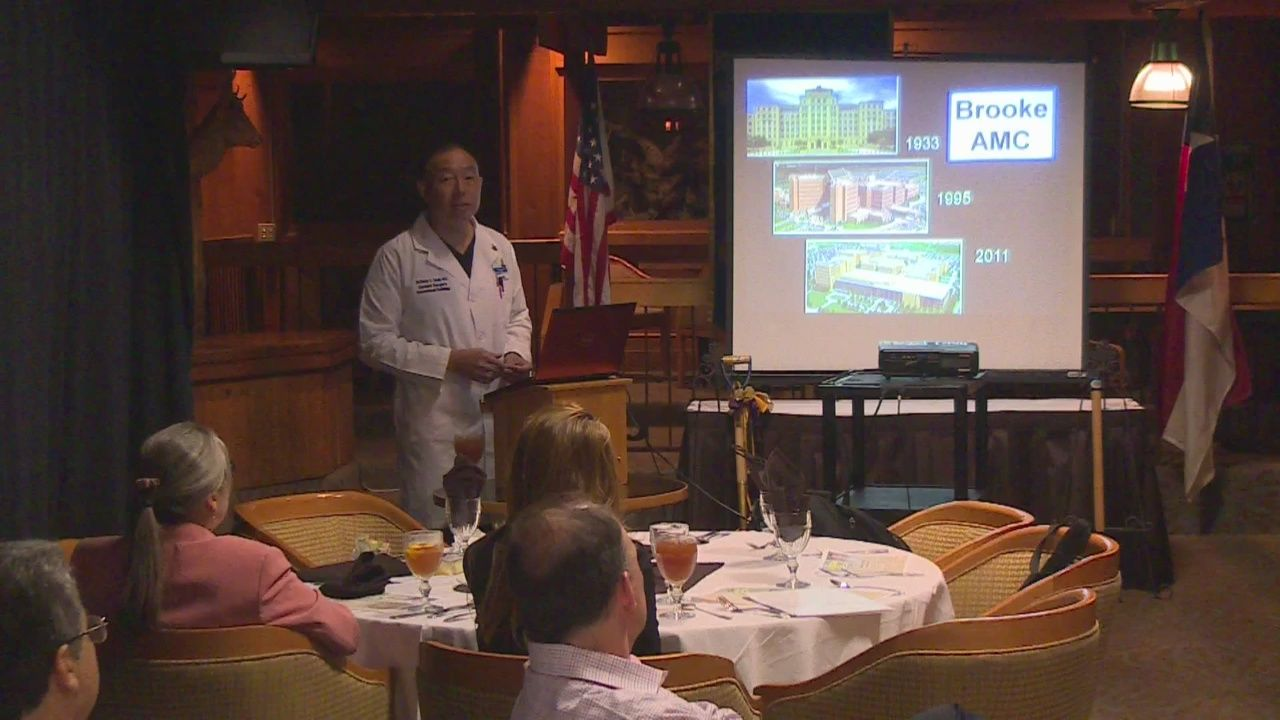 Kiwanis Club gets lesson in interventional radiology