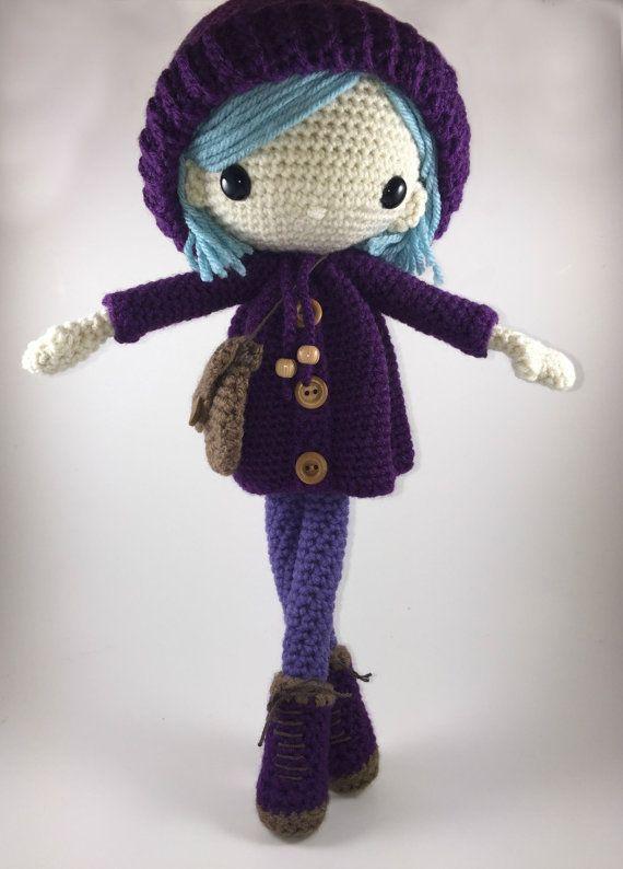 Emilia - muñeca Amigurumi Crochet patrón PDF | muñecas | Pinterest ...