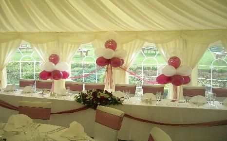 Cloud 9 Balloon Displays Balloons Chair Cover Hire Wedding Parties Surrey Chair Cover Hire Balloon Display