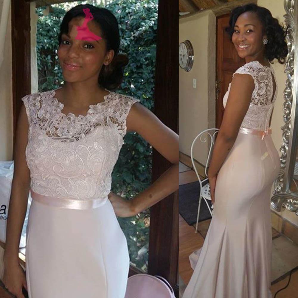 Wedding Honor Dresses Black Matron