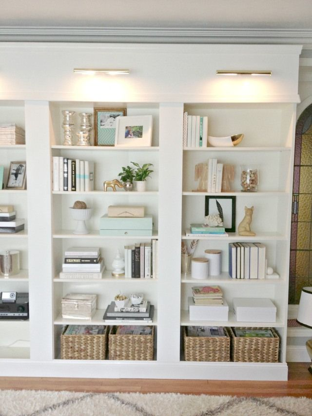 Floor To Ceiling Home Bookshelves Built In Built In Bookcase