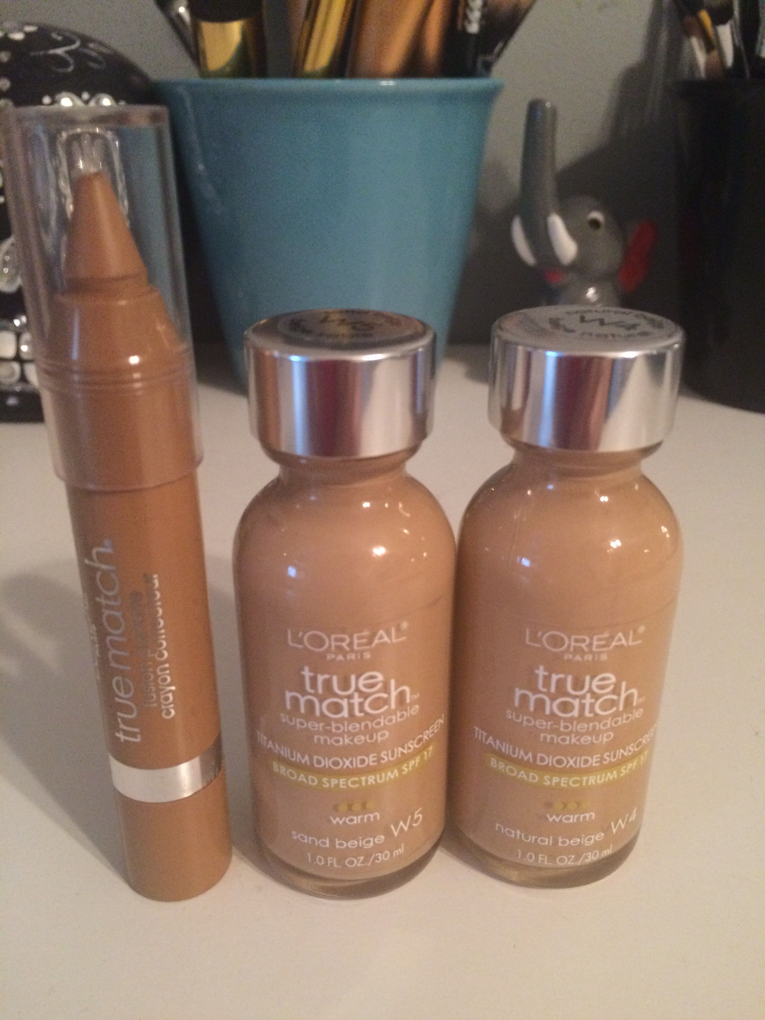 Swap/Sell in Lot. Foundations in W4 & W5 both used once. Concealer in W6-7-8 swatched once.