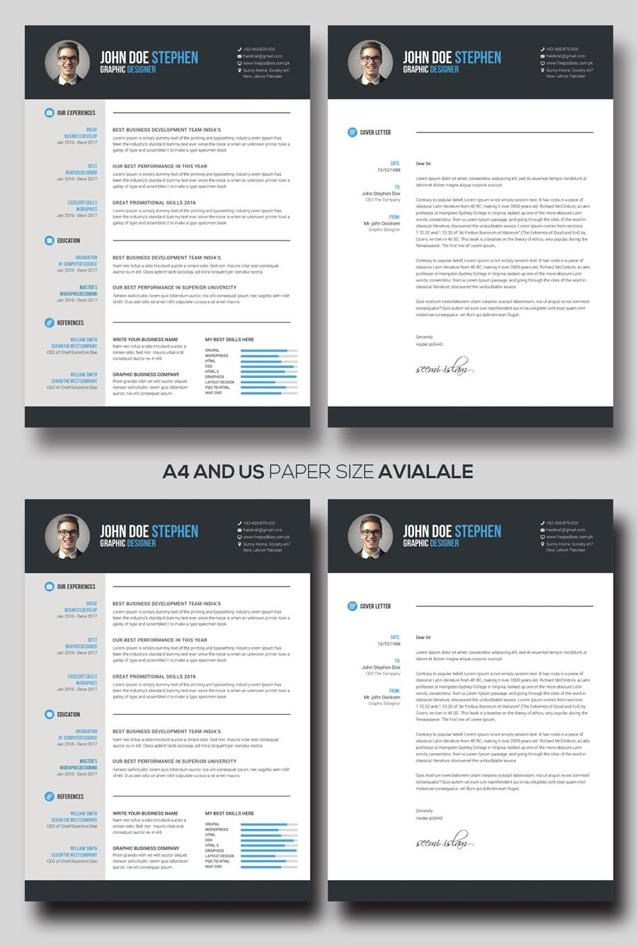 Free Resume Template Downloads Free Professional Resume Templates Master Bundles Cv Template Free Cv Design Template Free Cv Template