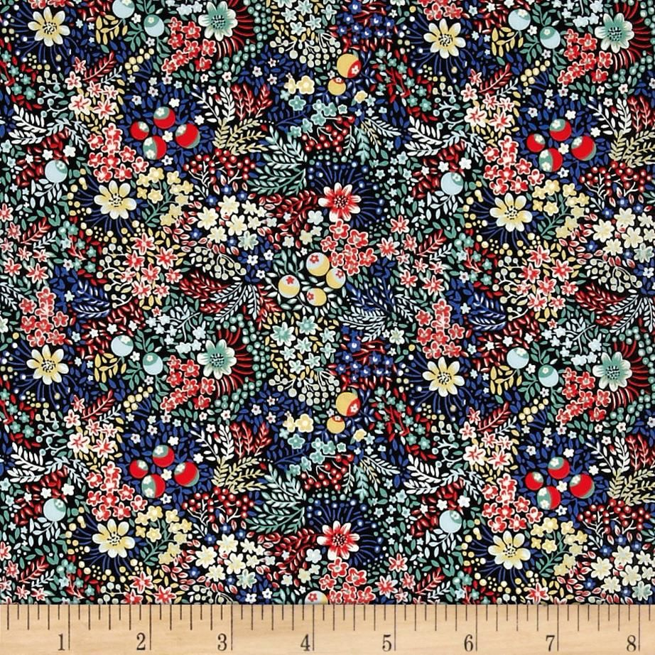 A ELDERBERRY LIBERTY TANA LAWN -100/% COTTON FABRIC