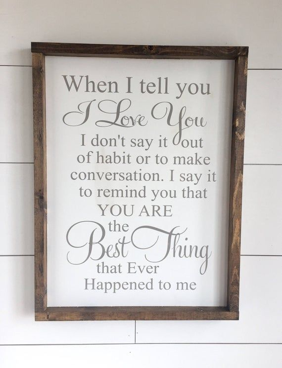 This beautiful custom sign will serve as a daily reminder to those you love! Hang in your Hallway, on your Gallery Wall, Kitchen, Bedroom, the Possibilities are Endless! It will look amazing with any decor! Farmhouse, Modern, Shabby Chic and so many more! Our signs make PERFECT GIFTS! SIGN