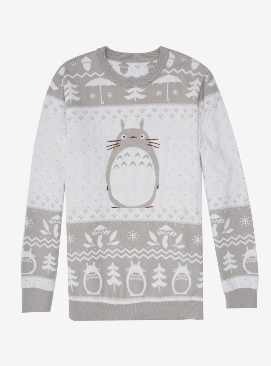 Studio Ghibli My Neighbor Totoro Holiday Sweater Studio Ghibli My Neighbor Totoro Holiday Sweater [ 1200 x 889 Pixel ]