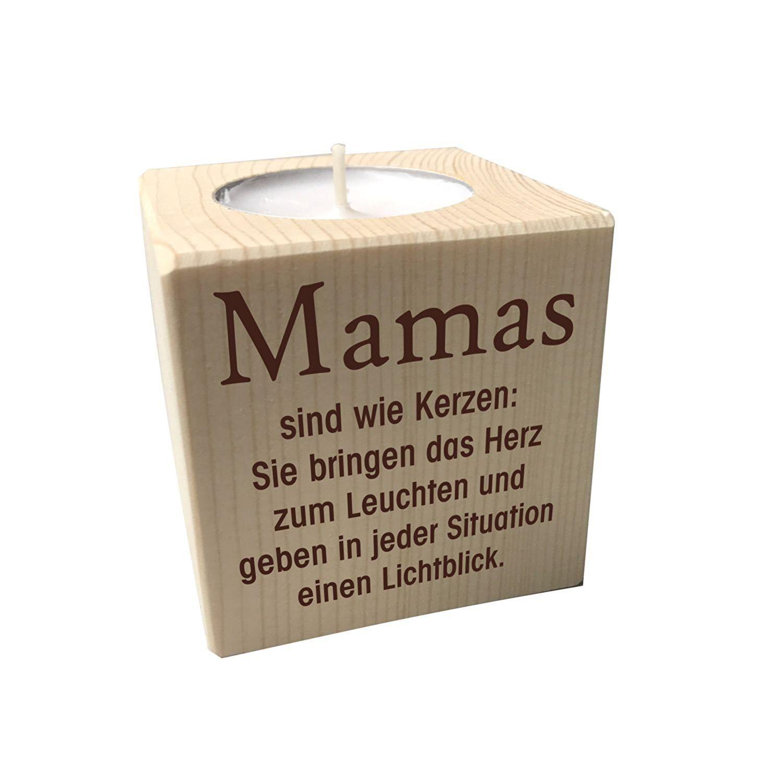 Teelichthalter Mama Toller Kerzenständer Für Mama Zu