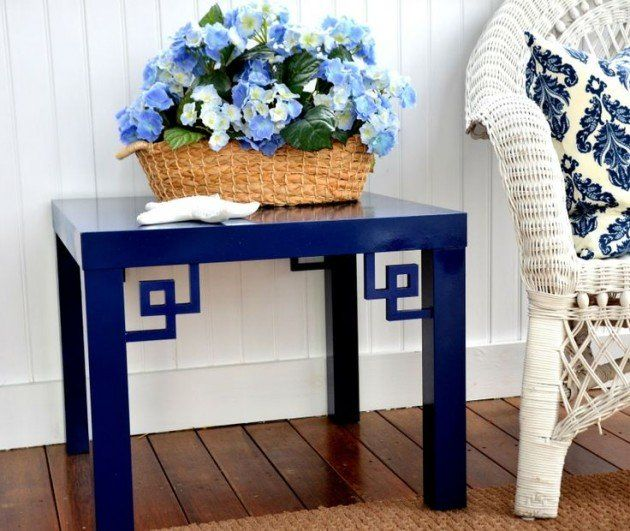 customiser une table basse ikea motifs pinterest. Black Bedroom Furniture Sets. Home Design Ideas
