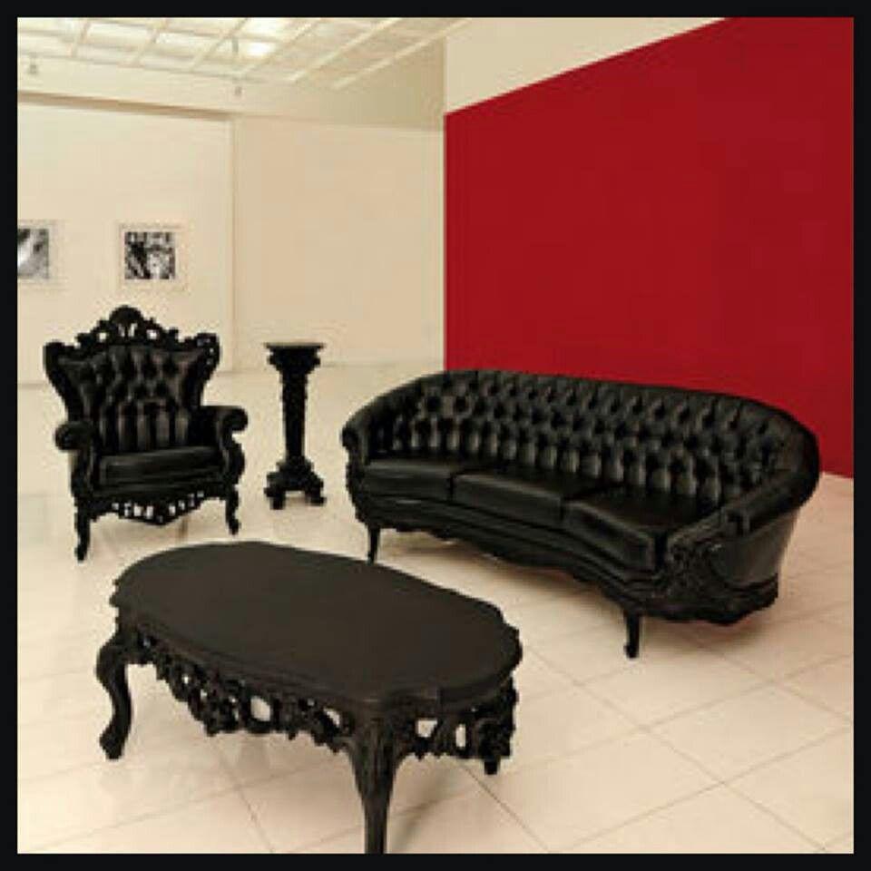 Lounge suite idee per la casa pinterest arredamento for Arredamento stile gotico