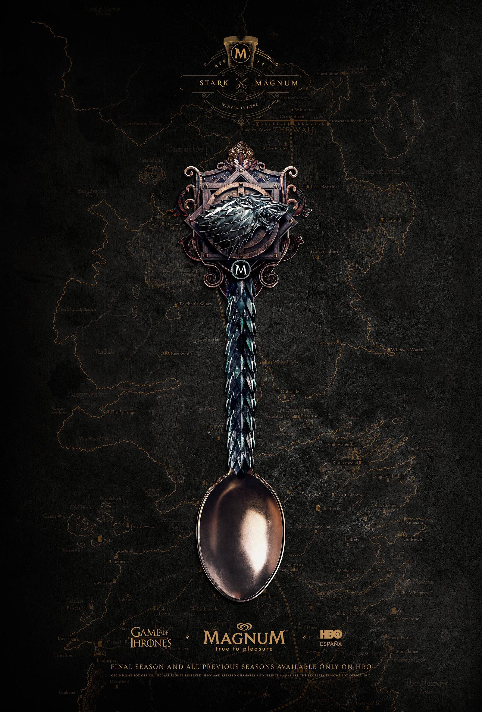 Magnum Outdoor Advert By Mullenlowe Game Of Spoons Ads Of The World Magnum Ice Cream Magnum Creative Advertising