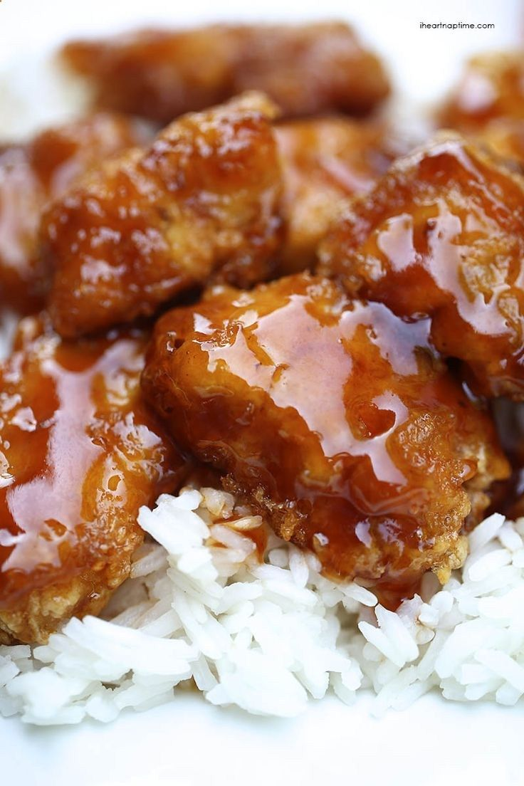 Homemade sweet and sour chicken recipe ~ The homemade sauce is what really takes this recipe over the top! Check out more recipes like this! Visit yumpinrecipes.com/