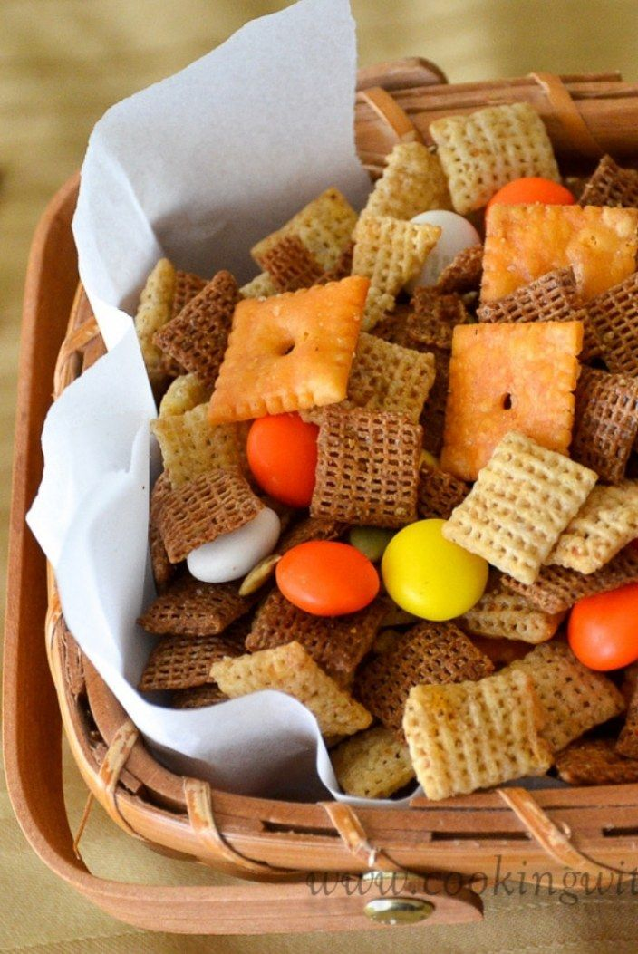 30 Addicting Snack Mix Recipes: Yummy Munchies images