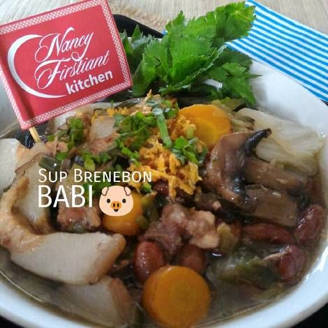 Resep Sup Brenebon Babi Oleh Nancy Firstiant S Kitchen Resep Makan Malam Resep Masakan Memasak